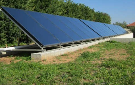 SOLAR HEATING for residence 1000m²